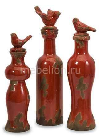 Купить Home-Philosophy Набор из 3 бутылок декоративных I love MY Home 50233-3