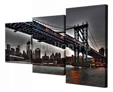 Купить Brilliant Набор из 3 панно (78х50 см) Мост XT-003