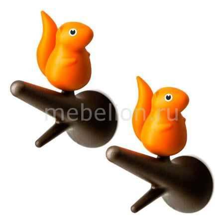 Купить Umbra Набор из 2 крючков декоративных Qualy QL10088-BN-OR