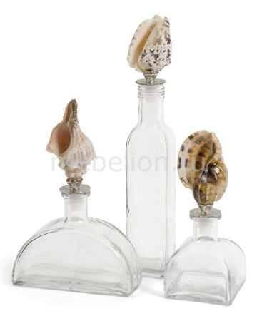 Купить Home-Philosophy Набор из 3 бутылок декоративных Smooth Sea 56279-3