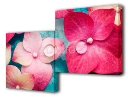 Купить Brilliant Набор из 2 панно (100х50 см) Цветок BT S-4113H
