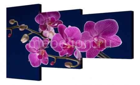 Купить Brilliant Набор из 3 панно (150х100 см) Цветок BT Y-2014H