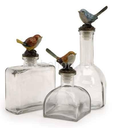 Купить Home-Philosophy Набор из 3 бутылок декооративных Light Breeze 27503-3