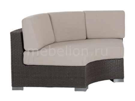 Купить Brafab Секция для дивана Sander 7029-6-2 коричневый