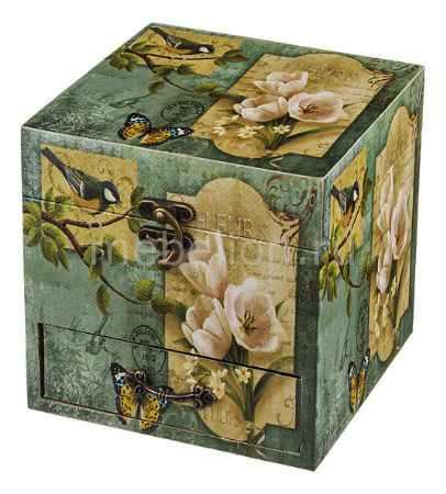 Купить АРТИ-М (15х15х15 см) Цветы и птицы 706-201