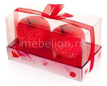 Купить Гифтман Набор из 2 свечей декоративных Love 16271