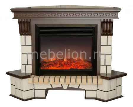 Купить Real Flame (134х43х107 см) Stone New Corner 00010011154