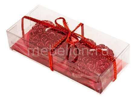 Купить Гифтман Набор из 2 свечей декоративных Love 16276