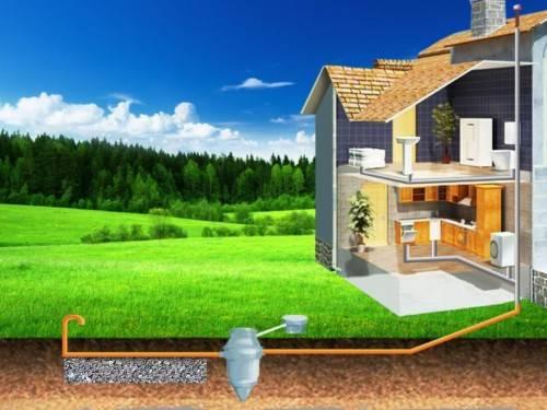 Организация очистных сооружений в частном доме