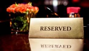 Как заказать столик в ресторане