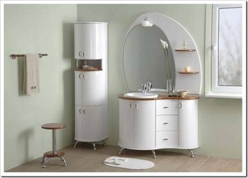 Требования, которые выдвигаются к мебельной обстановке в ванной комнате