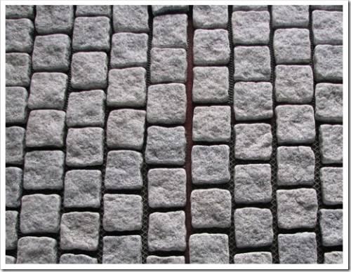 Что дает цемент под брусчаткой?