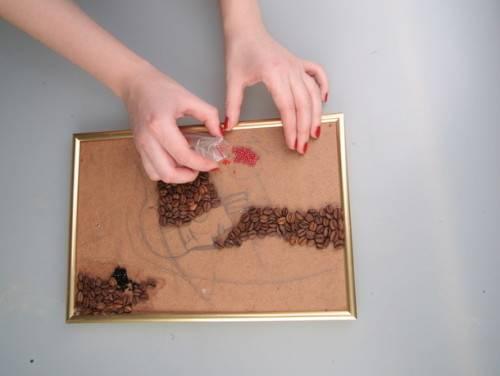 как сделать  картину своими руками