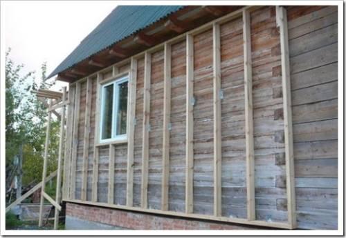 Защитная и декоративная обшивка деревянного дома