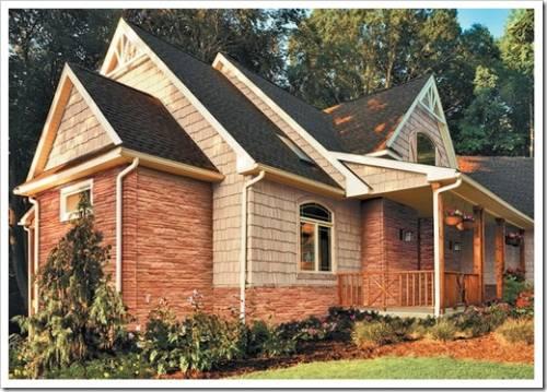Материалы, которые применяются для обшивки деревянного дома