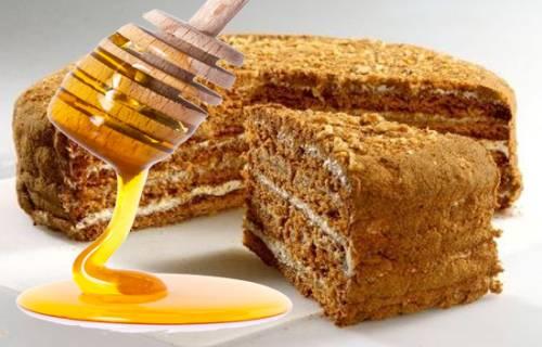 Медовый пирог – просто и вкусно