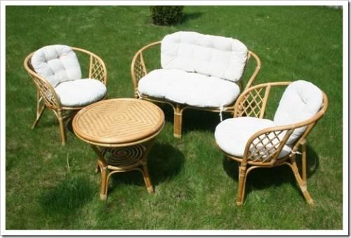 Материалы для изготовления плетеной мебели