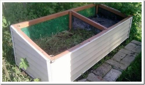 Как обеспечить вентиляцию в компостной куче?