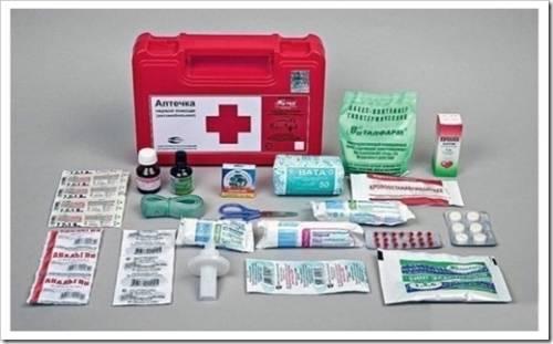 Аптечки: комплектация