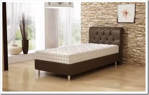 Кровать, основанная на каркасе для матраса