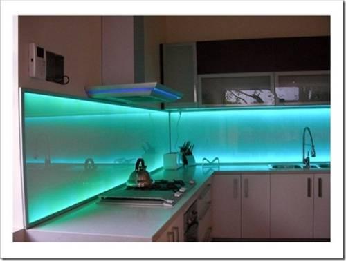 Где в принципе стоит организовывать светодиодную подсветку?