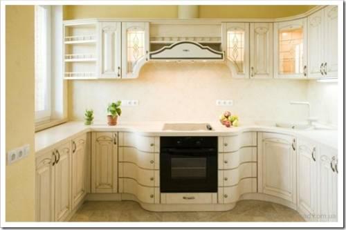 Цвет и фактура кухонных фасадов