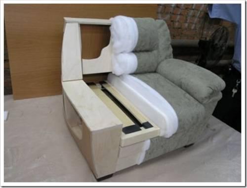 Выполняем реставрацию мягкого кресла своими руками
