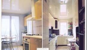 Глянцевый или матовый натяжной потолок выбрать?