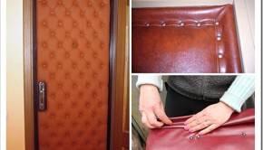 Плюсы и минусы некоторых видов обивки дверей