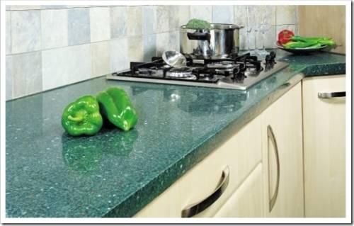 Разновидности столешниц для современных кухонь