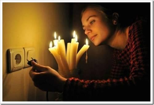 отключение электроэнергии в доме