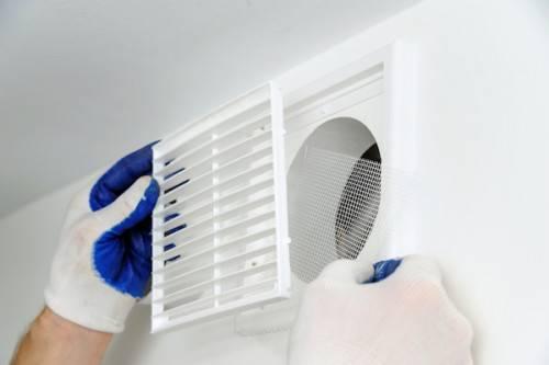 Как установить решетку на вентиляцию