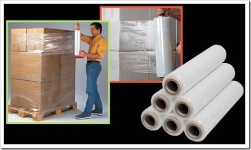 Материал, используемые для производства стрейч-плёнки