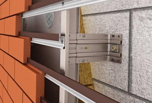 Монтаж навесных вентилируемых фасадов