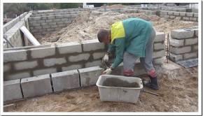 Принципы установки бетонных блоков в качестве фундамента