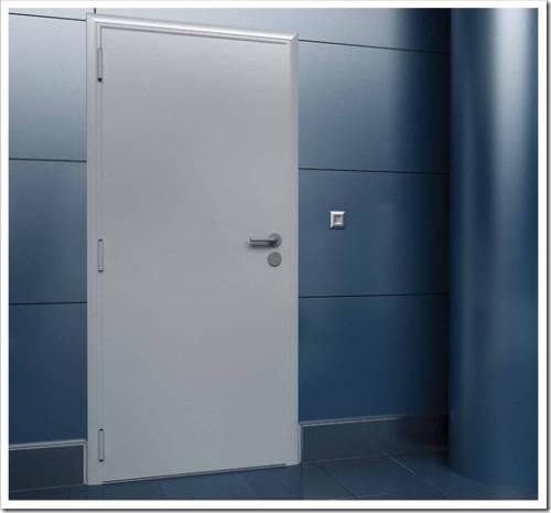 Из чего собираются технические двери