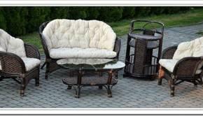 Уникальная стойкость ротанговой мебели