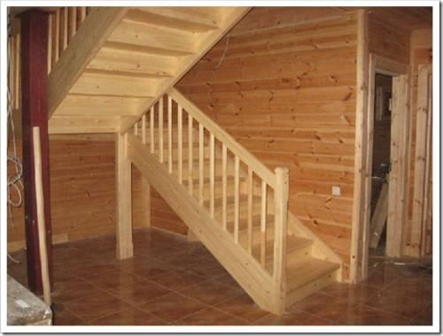 Что потребуется для организации лестницы на второй этаж?