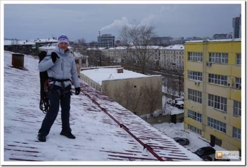 Использование современных средств для борьбы со снегом и наледью на кровле