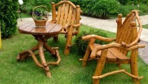 Как сделать садовую мебель своими руками