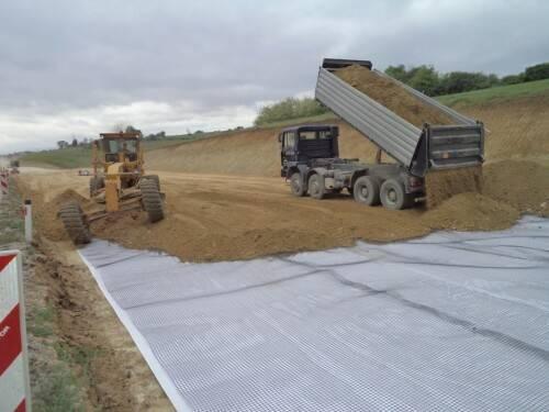 Дорожное строительство: применение геотекстиля