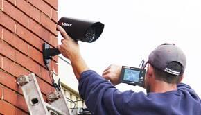 Монтаж IP камеры