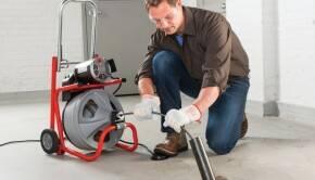 Как выбрать электрическую машину для прочистки канализации