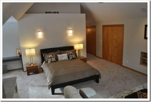 Осветительное оборудование, присущее конкретным зонам спальни