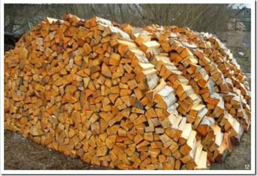 Минусы использования берёзовых дров
