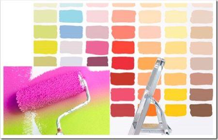 Базовые рекомендации по нанесению интерьерной краски