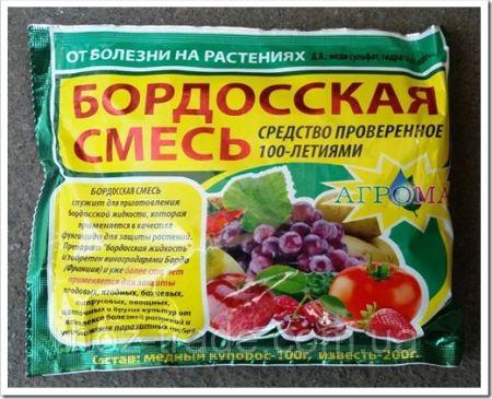 Перечень типичных препаратов для сада на весну