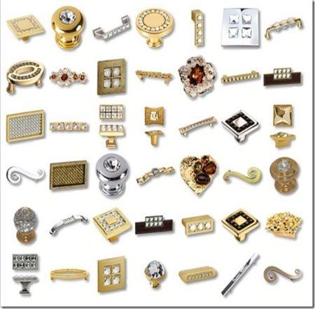 Распространённые разновидности мебельной фурнитуры